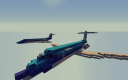 Fokker 70 KLM + Special livery Minecraft Project