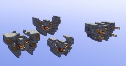 Assorted D.R.O.N.E.S.  (Destination Reconissance Omni-Neutralizing Environmental Surveyor) Minecraft