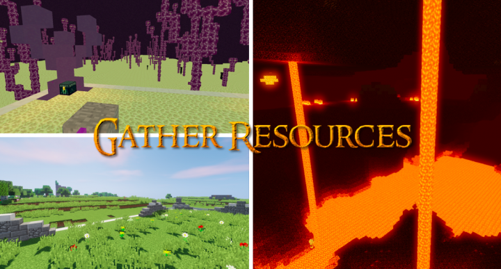 gather resources and expand!