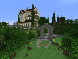 "HOTEL VILLA ""Timbau"" Minecraft Map & Project"
