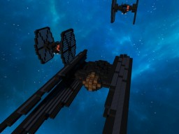 TIE SILENCER STAR WARS EP8 Minecraft Project