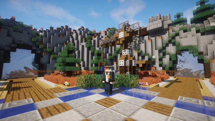 StrainCraft V Minecraft Server - Minecraft server wo man hauser bauen kann