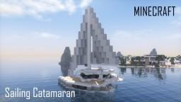 Sailing Catamaran (full interior) Minecraft Map & Project