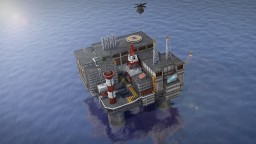 EC-1 oil station Minecraft Map & Project