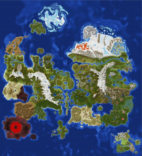 DREHMAL - 8000x8000 Survival/Adventure Map Minecraft Project