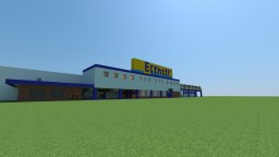 EDEKA Center Wozny (DE) V1 Minecraft Map & Project