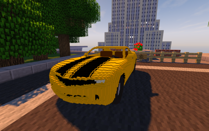 Working Vehicles of all kinds are available on the server.