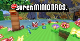 New Super Minio Bros. [v3] [1.12.2] (Mario) Minecraft