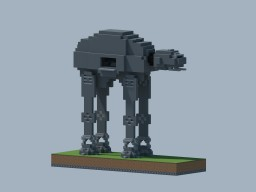 AT-AT Imperial Walker Minecraft Project