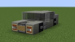 scuffed attempt at mercedes s class Minecraft Project