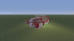 Shelby Cobra sports car, open top and hard top Minecraft Project