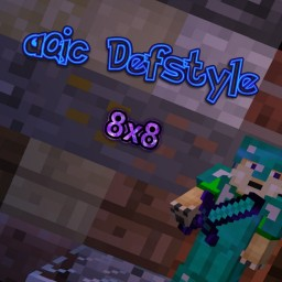 aQic Defstyle 8x8 1.7-1.8.9 Minecraft Texture Pack