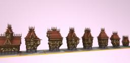Medieval House Bundle Minecraft Project
