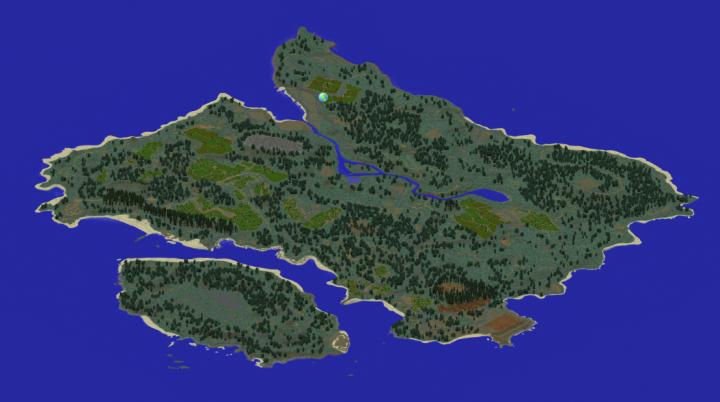 Playerunknown S Battlegrounds Maps Loot Maps Pictures: Playerunknown's Battlegrounds Minecraft Map