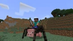 Spider-pig tutorial Minecraft Map & Project