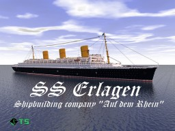 Ocean liner SS Erlagen Minecraft Map & Project