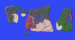The Islands Map Minecraft Project