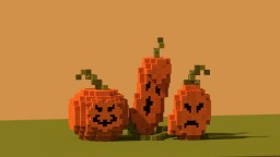 Three large pumpkins [Download] Minecraft Project
