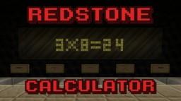 Redstone Calculator Minecraft Map & Project