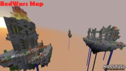 BedWars Steininsel MAP+SCHEMATIC Minecraft Map & Project