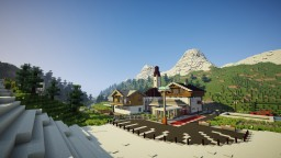 SKI RESORT Fork Town Minecraft Project