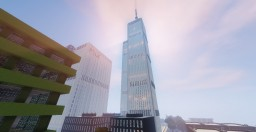 World Trade Center, Moore City Minecraft Map & Project