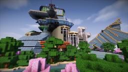 Minecraft Mega Build Hyperdimension Neptunia Lastation (Last-Station) Minecraft Map & Project