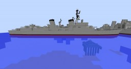 Fictional destroyer Minecraft Map & Project
