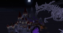 Halloween Castle + Skeletal Dragon Minecraft Project