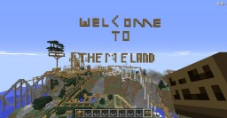 brand new theme park!!!!!!!! Minecraft Map & Project