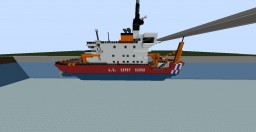 USCGC Mackinaw (Coast Guard Cutter) Minecraft Map & Project