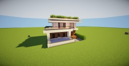 SM-Modern-House-15 Minecraft Project