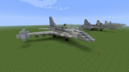 General Dynamics F-16 Fighting Falcon pack Minecraft Project