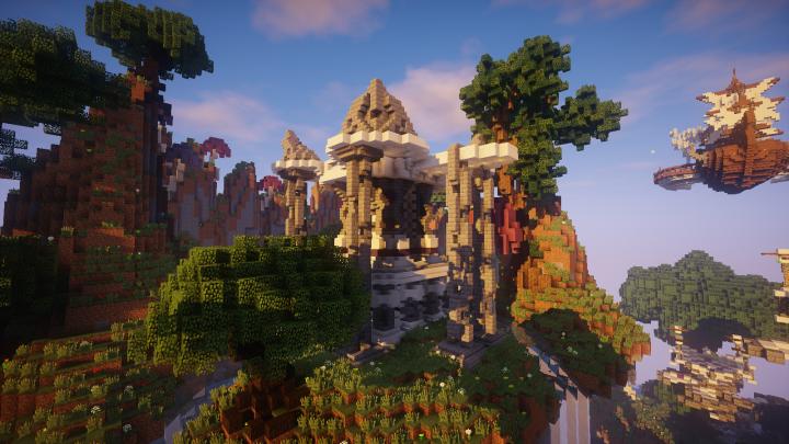 Minecraft Server Spawn (Download) Minecraft Map