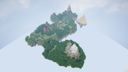 Flying Island Minecraft Map & Project