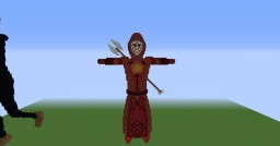 Cornuxx (Mage with Spear) Minecraft Map & Project