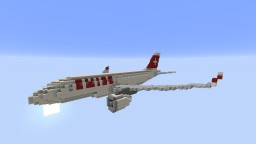 F'n'A Gaming Airbus A220-100/300(Bombardier CS100/CS300) Swiss Global Air Lines Minecraft