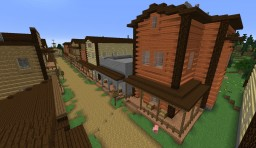 Prairie Western Town Role Play Minecraft Project