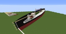 Ocean Liner (Full Interior!) Minecraft Map & Project