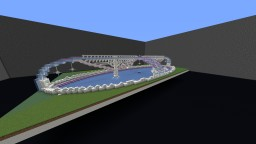 Simple Ice Rink build Minecraft Project