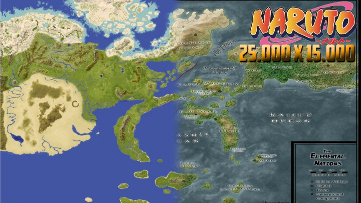 World map of naruto world painter 25000x15000 minecraft project world map of naruto world painter 25000x15000 gumiabroncs Images