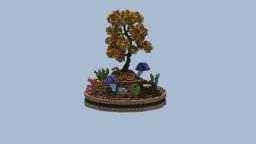 Autumn Tree Minecraft Project