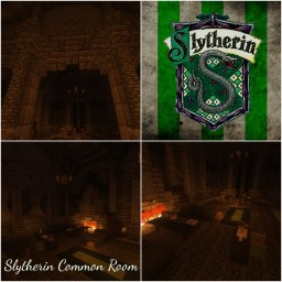 Slytherin Common Room [Harry Potter] Minecraft Map & Project