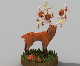 Halloween Deer Minecraft Project