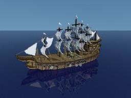 Fantasy Ship | HUB Lobby | Blaze Network Minecraft Map & Project
