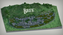 LOTR - Bree Town Minecraft Project
