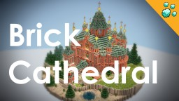 Scandinavian brick Cathedral Minecraft Project