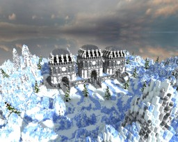 Frozen Grounds - Large Spawn Minecraft Project