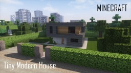 Tiny Modern House (full interior) Minecraft Project