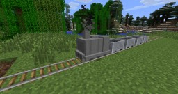 Train-Rail Craft City Map for Minecraft Minecraft Map & Project